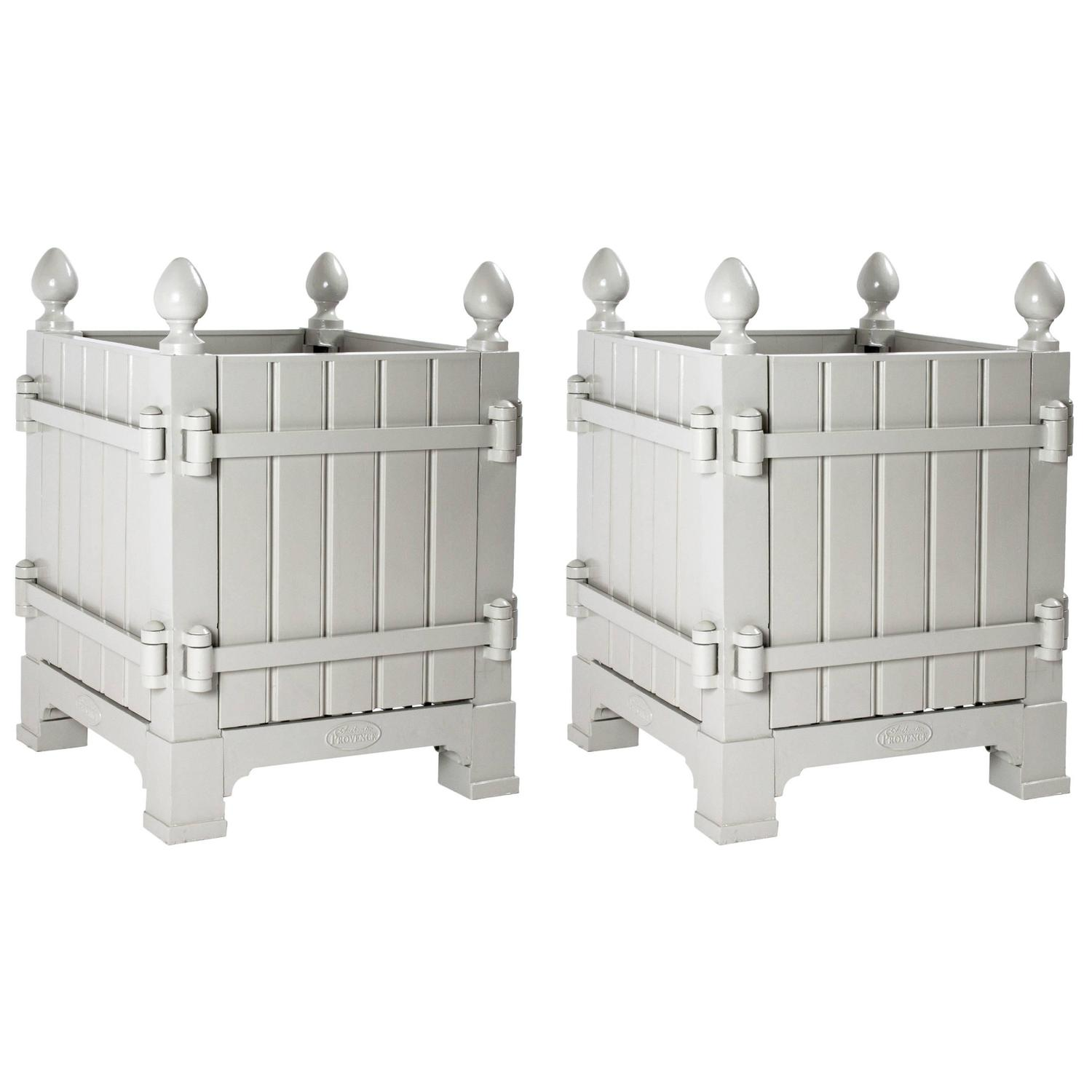 Pair Of 17th Century Style French Versailles Planter Boxes