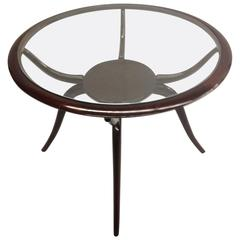 Spider Form Cocktail or Side Table by Guglielmo Ulrich, Italy, 1940