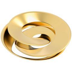 Rollercoaster D50 Tray '24-Karat Gold-Plated Bronze'