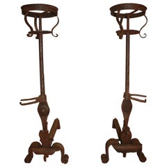 Pair of 18th Century French Andirons