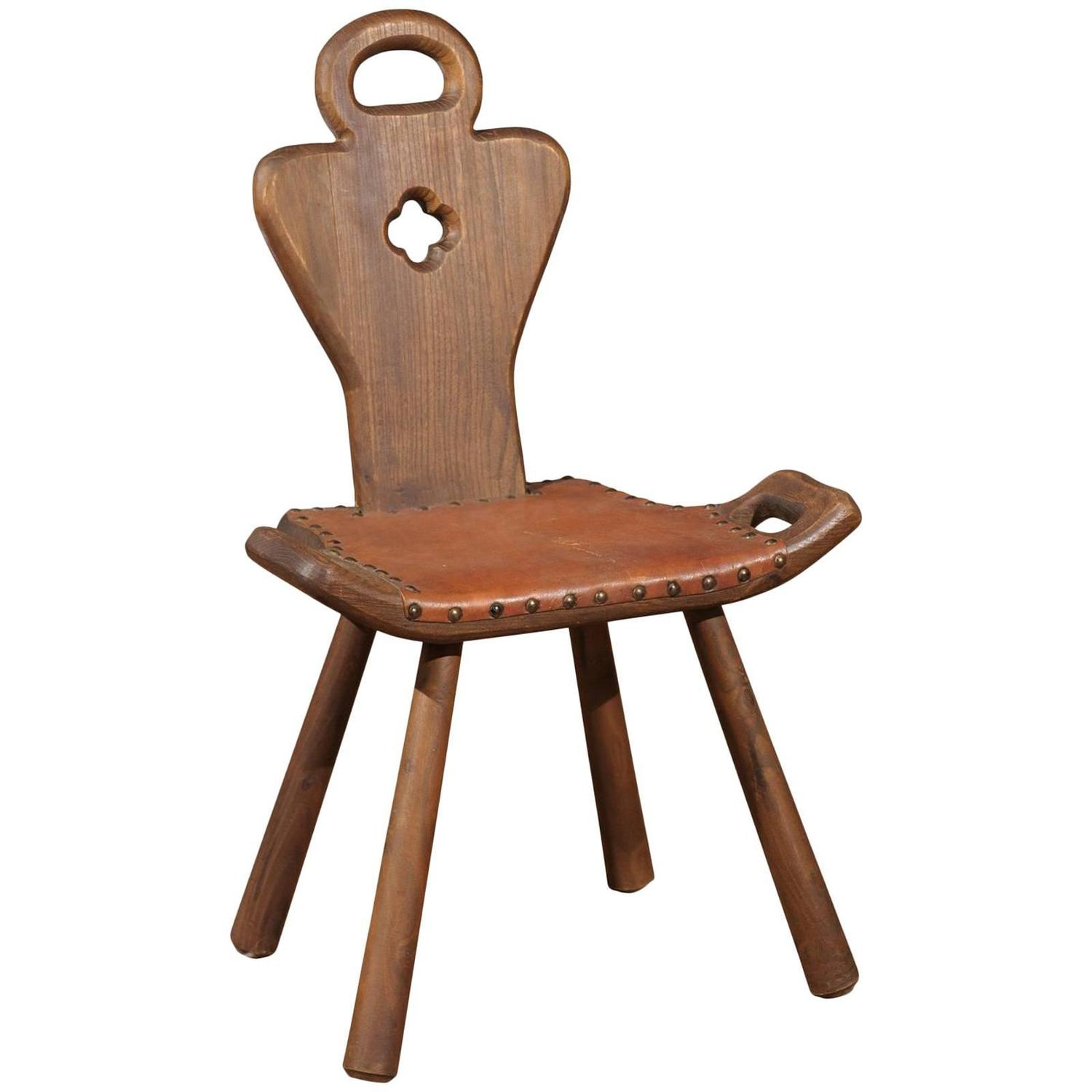 Arts and Crafts Birthing Chair - McIntosh Style Arts And Crafts Chairs For Sale At 1stdibs