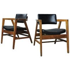 Mid-20th Century American Modern Lounge Chairs by Gunlocke