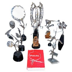 Collection of Sterling Silver Sculptures by Paval