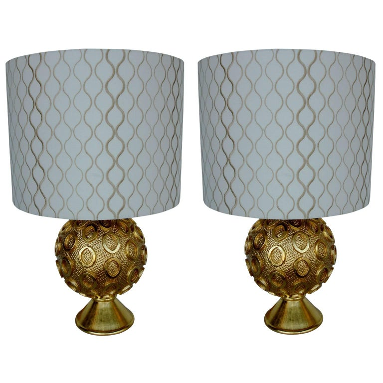 Pair of Perth Lamps by Bryan Cox For Sale