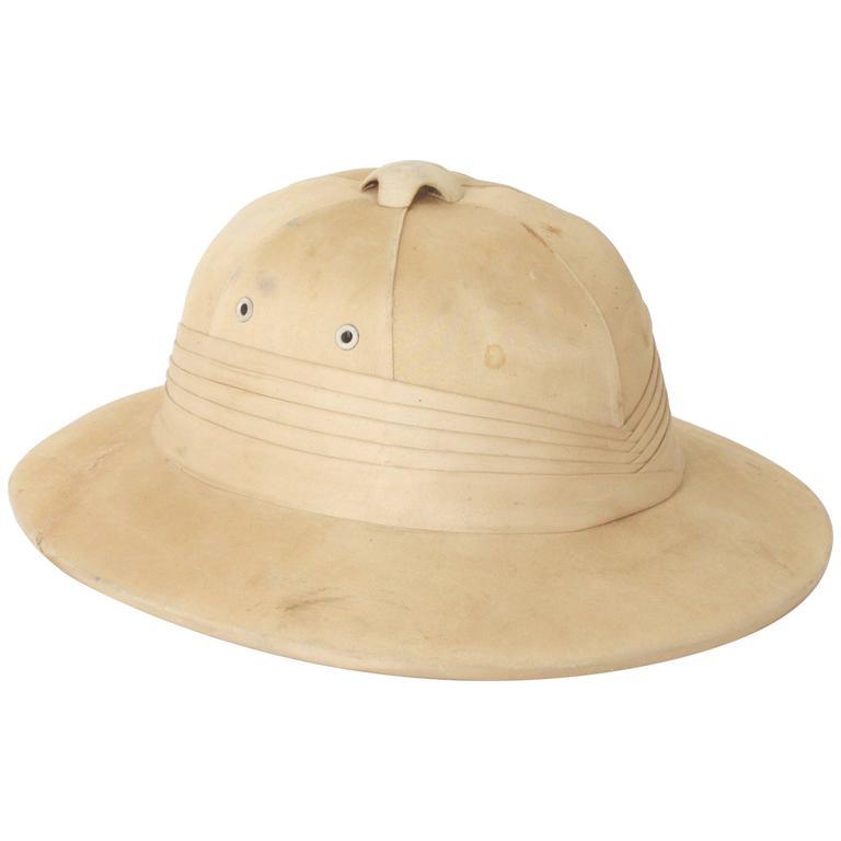bbb43dc777197 Vintage Safari Pith Helmet at 1stdibs