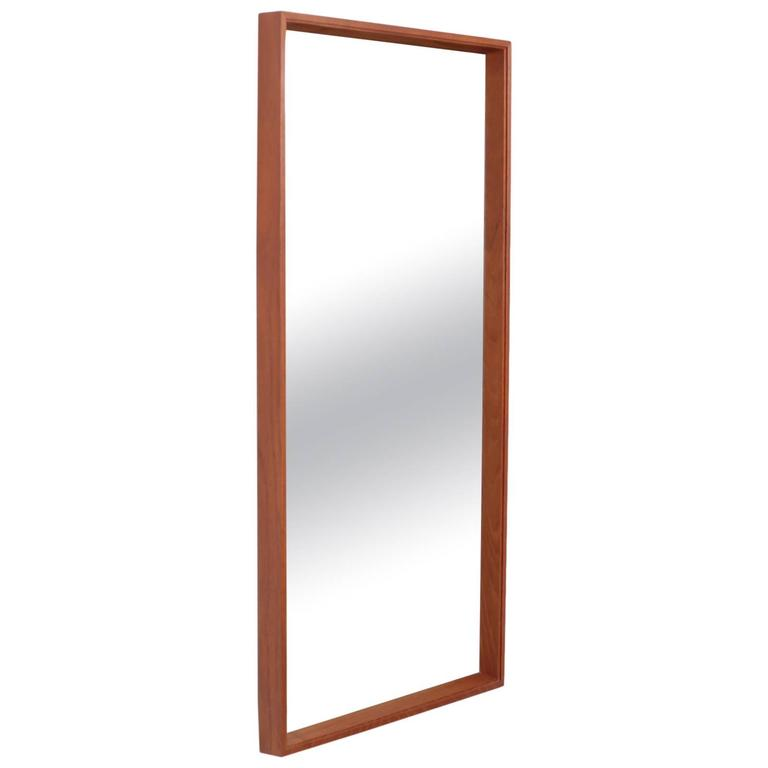 Paul McCobb Planner Group Wall Mirror in Walnut