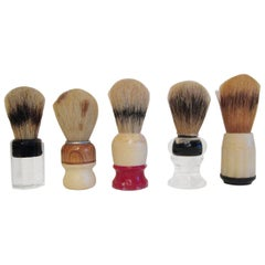 Collection of Vintage Shaving Brushes