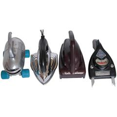 Machine Age Industrial Design Streamline Objects  IRON SOLD