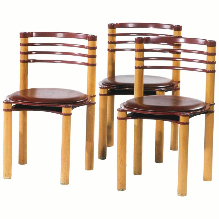 Fabulous Set of 12 Dining Chairs For Sale