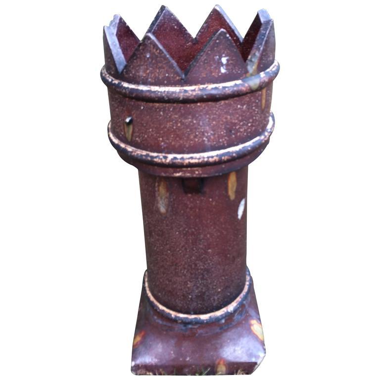 English Salt Glaze Chimney Pot For Sale At 1stdibs