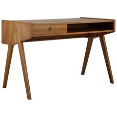 Helmut Magg Small Wooden Writing Desk, Germany, 1950s