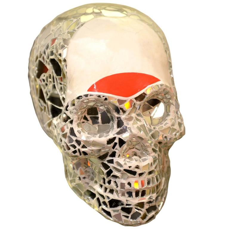 Sculpture Artist Proof Skull Vanity For Sale