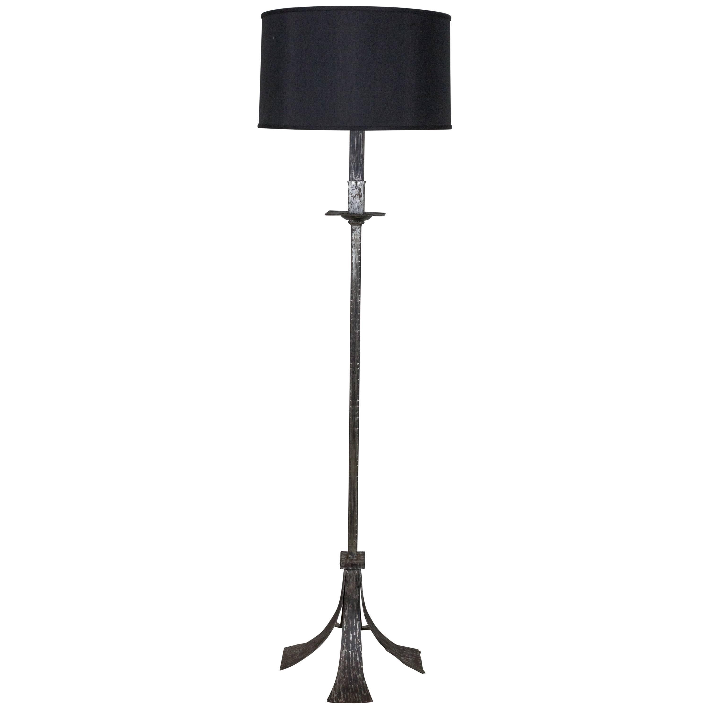 Spanish Wrought Iron Floor Lamp