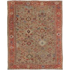 Antique Persian Zeigler Sultanabad Rug