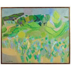 Paysage by Roger Derieux