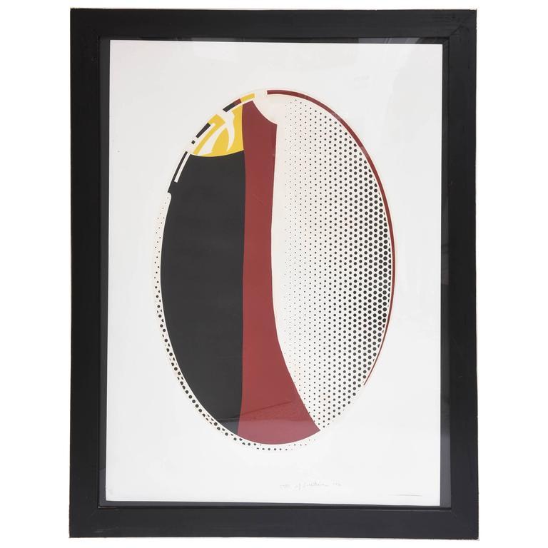 Roy Lichtenstein Quot Mirror 6 Quot At 1stdibs