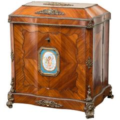 Fine 19th French Marquetry Escritoire or Writing Box, Napoleon III, circa 1860