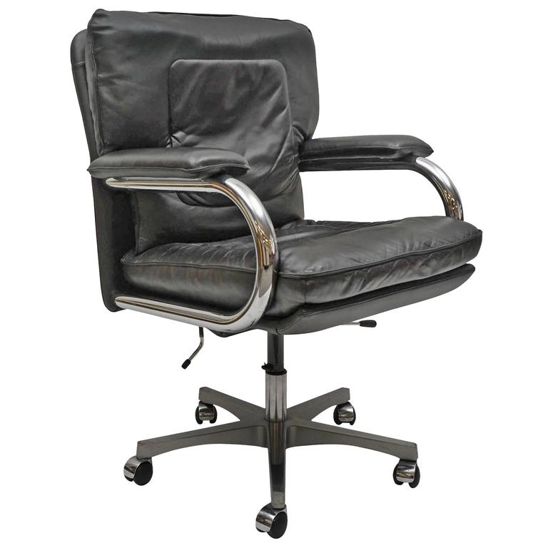 Italian Pace Collection Desk Chair by Mariani