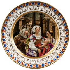 Berlin Porcelain Plate, circa 1830