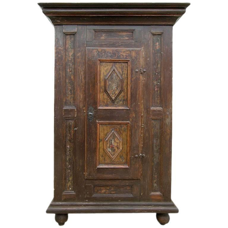 Century Furniture Sale: Swedish 17th Century Baroque Cupboard For Sale At 1stdibs