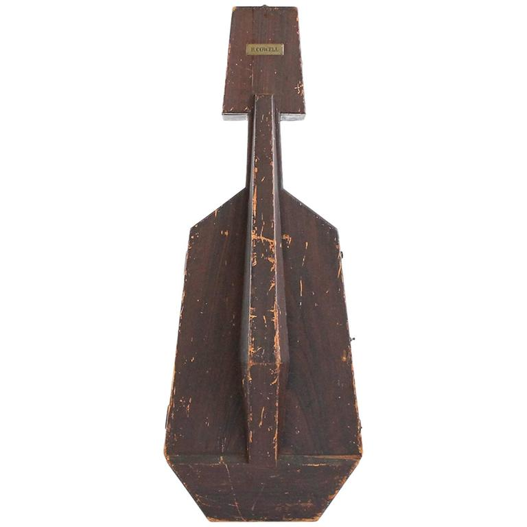 Modernist Wooden Cello Case