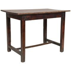 Late 18th Century Oak Center Table