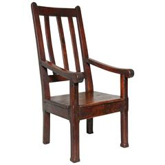 Welsh Vernacular Elm Chair