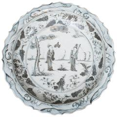 Ming Dynasty Style Chinese Porcelain Charger