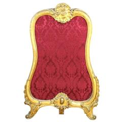 Gilt Baroque Fire Screen