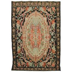Antique Wool Caucasian Bessarabian Carpet, circa 1900