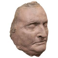 19th Century Death Mask of Daniel Webster
