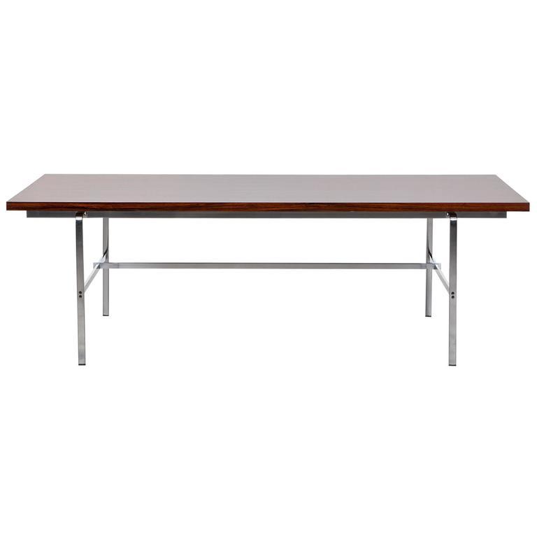 1960's brown wooden Desk by Fabricius / Kastholm