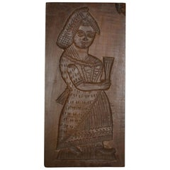 Double Sided Wooden Gingerbread Mold