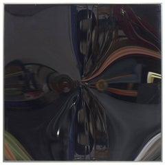 Victor Bonato Convex Mirror KX 77 Signed, 7/40, 1984