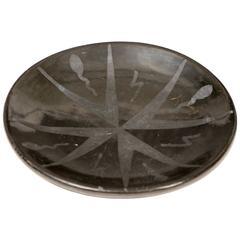 Maria Martinez Pottery Plate, San Ildefonso Pueblo, circa 1945