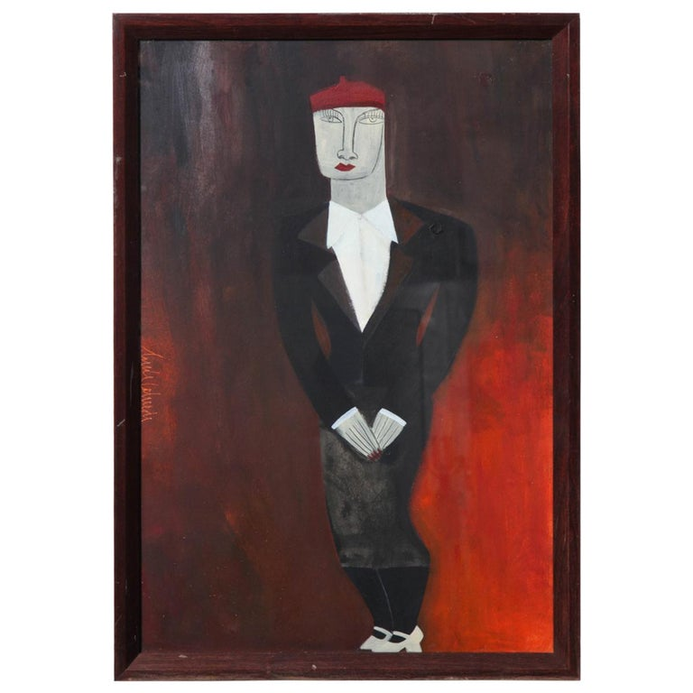 Painting of a Man For Sale