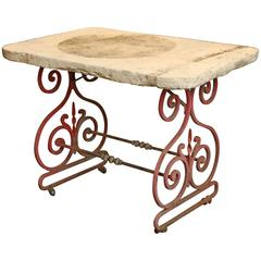 French Butcher Table