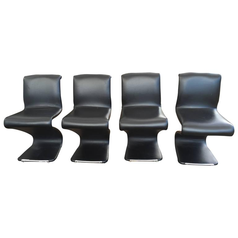 Set of Four Z Chairs