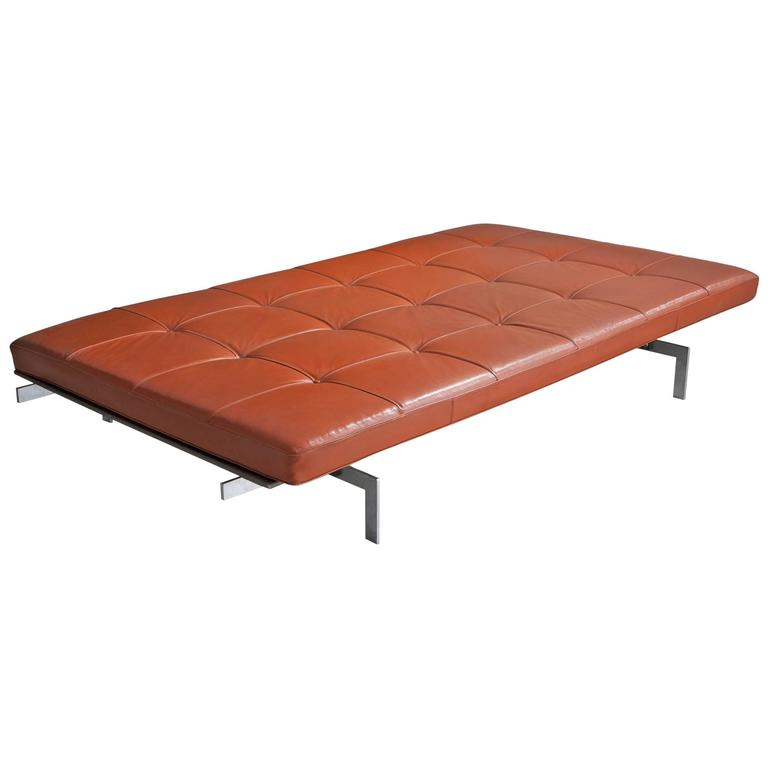 PK 80 Daybed by Poul Kjaerholm, Denmark, circa 1968 For Sale