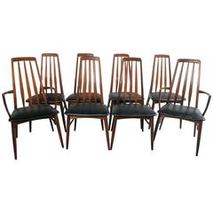 Set of Eight Niels Moller Eva Dining Chairs