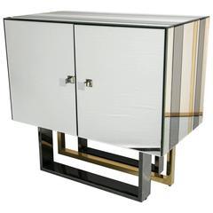 Millennium Two-Door Cabinet Paul Evans Influenced