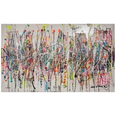 Contemporary Abstract Oil on Canvas by Oliver Shaw