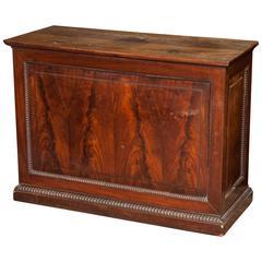 William IV Carved Oak Specimen Cabinet