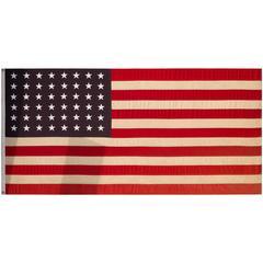 Huge World War Era American Flag