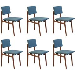 Set of Six 'Luisella' Chairs by Franco Albini
