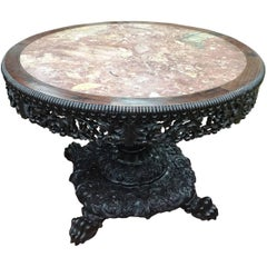 19th Century Chinese Hardwood Centre Table