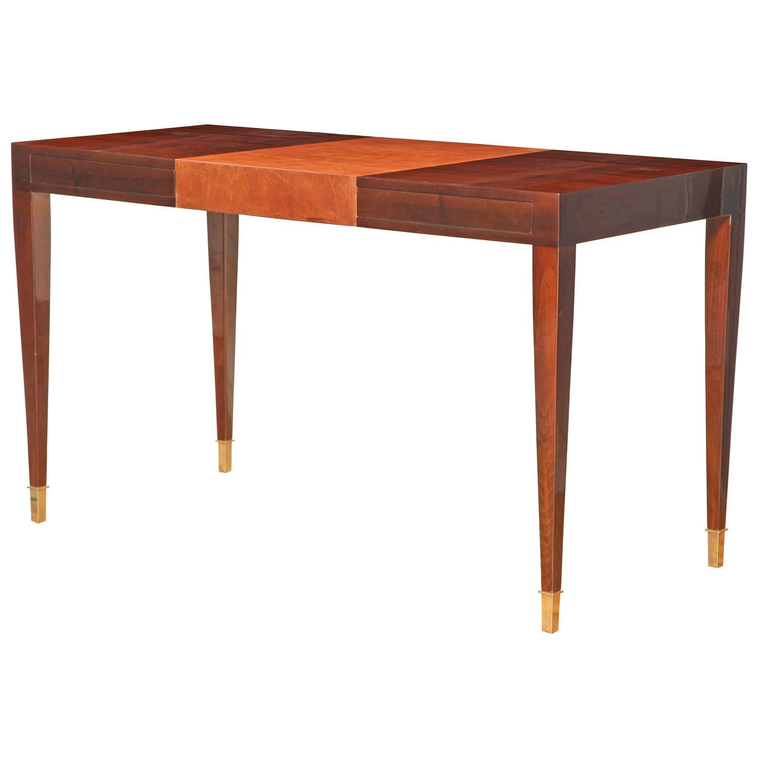 Art Deco Writing Desk At 1stdibs