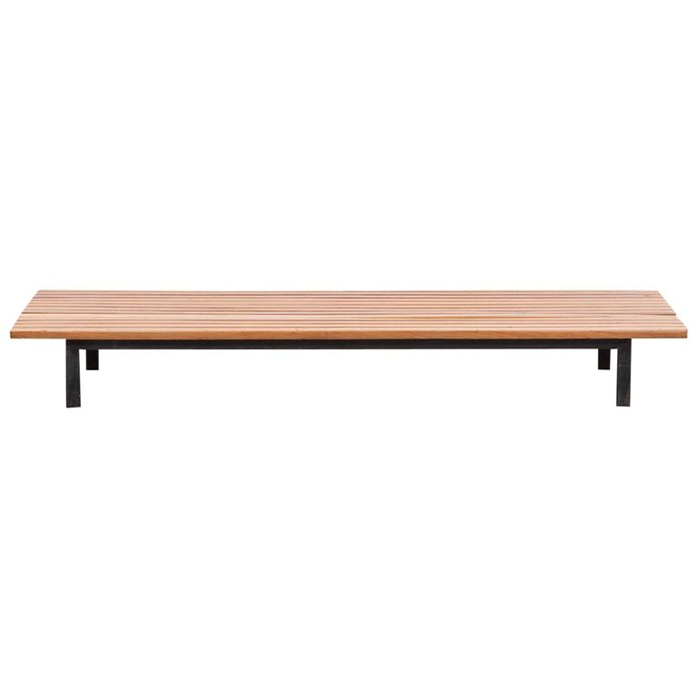 Charlotte Perriand Bench 39 C 39 For Sale At 1stdibs