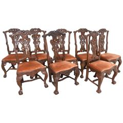 Set of 18th Century Dutch Dining Chairs