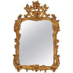 Fine Louis XV Rococo Mirror